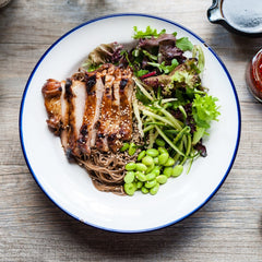Grilled Chicken Soba Noodles