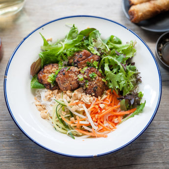Bun Cha Pork Patty Rice Bowl (GF)