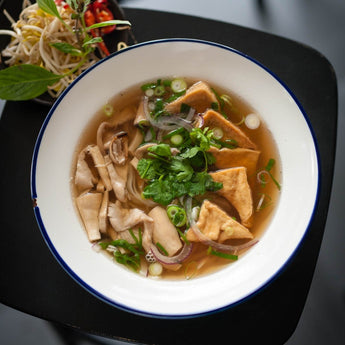 Vegan Pho with Tofu and Mushroom (Vegan)