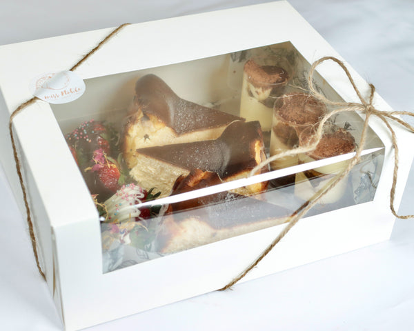 Dessert box by Miss Noble