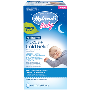Baby Nighttime Mucus & Cold Relief - Hylands