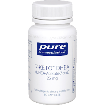 7-Keto DHEA 25 mg 60 vcaps by Pure Encapsulations