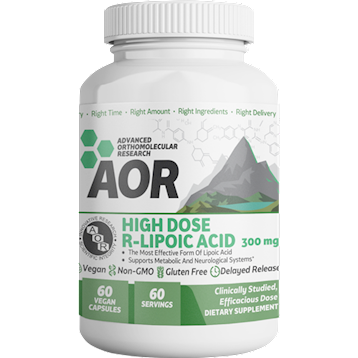 High Dose R-Lipoic Acid 60 vegcaps