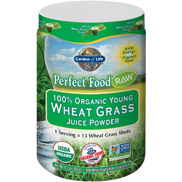 Perfect Food RAW Wheat Grass Juice 120 g