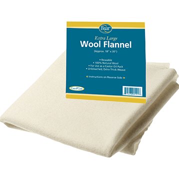 "Wool Flannel Pack, 19""x30"" - Nutriessential.com"