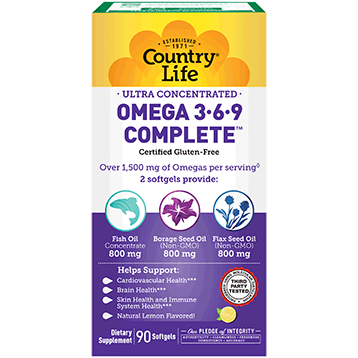 Ultra Omega 3 6 9 Complete - Country Life