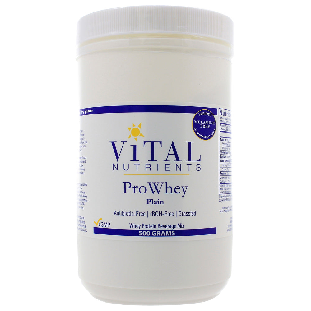 Pro Whey Plain Protein Powder - Nutriessential.com