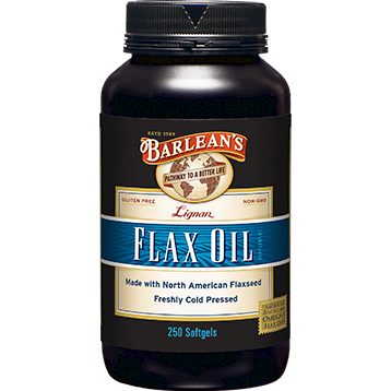 High Lignan Flax Oil 1000 mg - Nutriessential.com