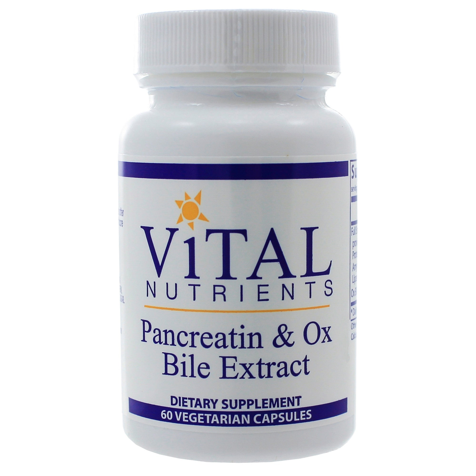 Pancreatin and Ox Bile - Nutriessential.com