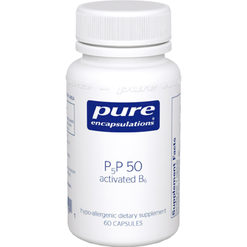P5P50 activated B6 by Pure Encapsulations