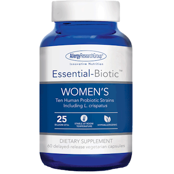 Essential-Biotic Women's 60 vegcaps