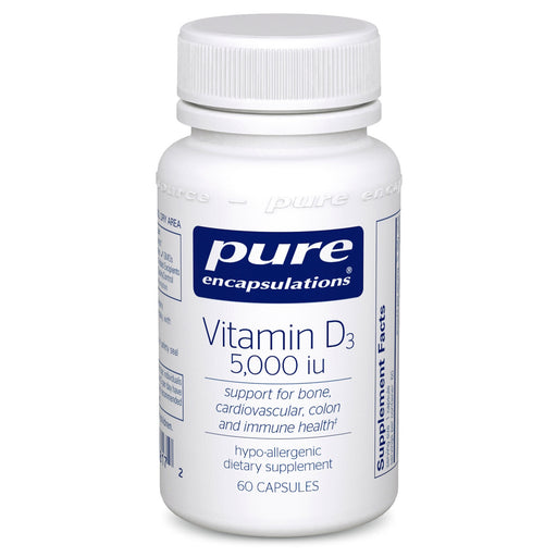 Vitamin D3 5000 i.u. by Pure Encapsuations