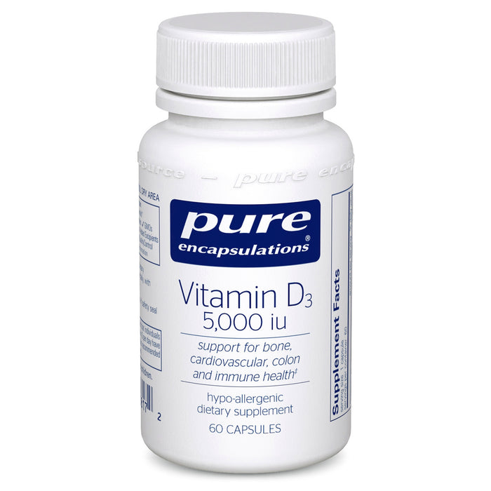 Vitamin D3 5000 iu by Pure Encapsulations
