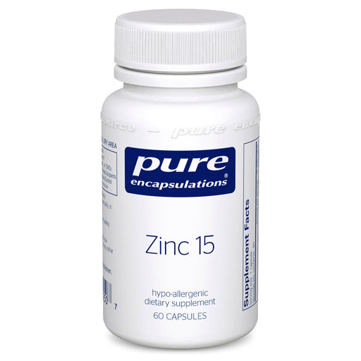 Zinc 15 by Pure Encapsulations