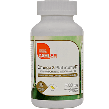 Omega 3 Platinum + D™ 90 softgels