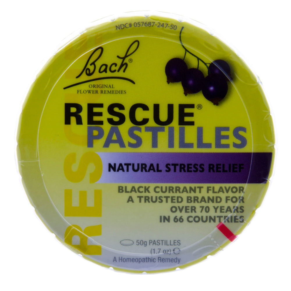 Rescue pastilles Black Currant - Nutriessential.com