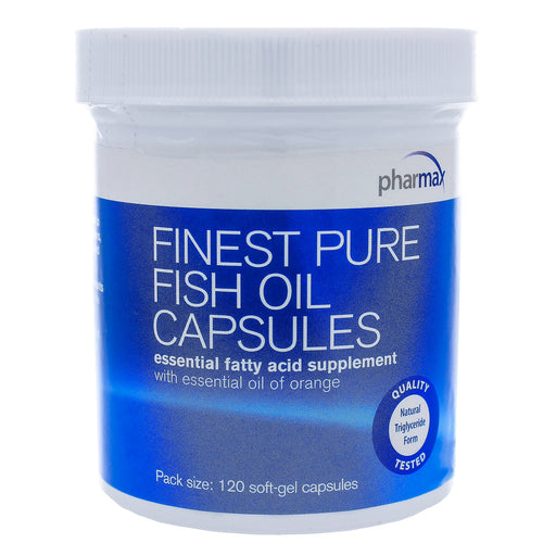 Finest Pure Fish Oil Capsules - Nutriessential.com