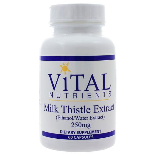 Milk Thistle Extract 250mg - Vital Nutrients