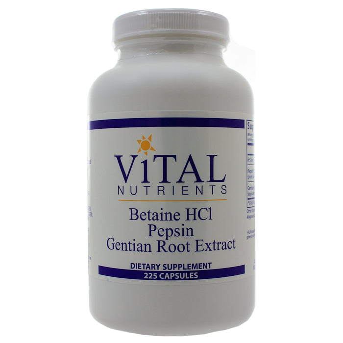 Betaine HCL Pepsin and Gentian Root Extract - Nutriessential.com