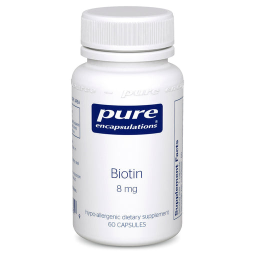 Biotin 8mg by Pure Encapsulations