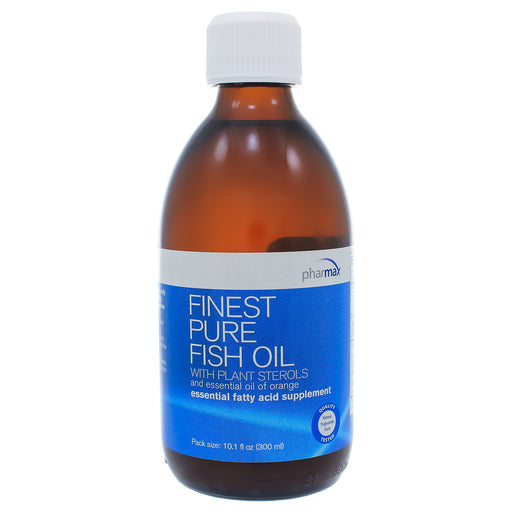 Finest Pure Fish Oil with Plant Sterols Orange - Nutriessential.com