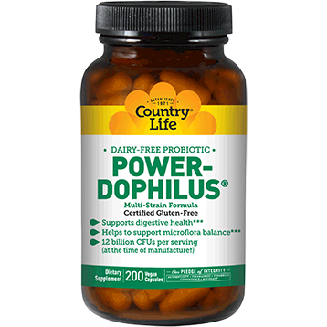 Power-Dophilus Milk Free - Country Life