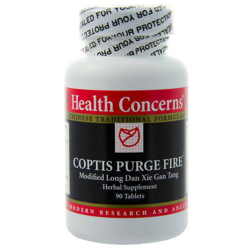 Coptis Purge Fire by Health Concerns