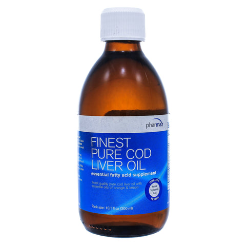 Finest Pure Cod Liver Oil Orange and Lemon - Nutriessential.com