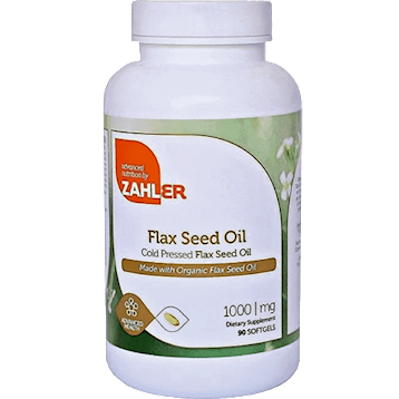 Flax Seed Oil 1000 mg 90 softgels