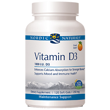 Vitamin D3 Orange Flavor 250 mg