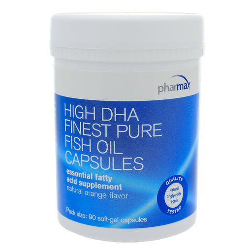 High DHA Finest Pure Fish Oil Orange Cpsues by Pharmax