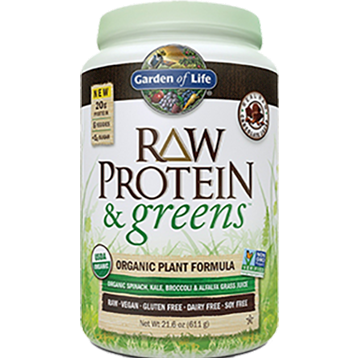 RAW Protein and Greens Chocolate 21.6 oz