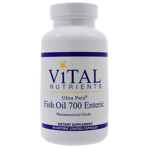 Ultra Pure Fish Oil 700 Enteric Coated - Nutriessential.com