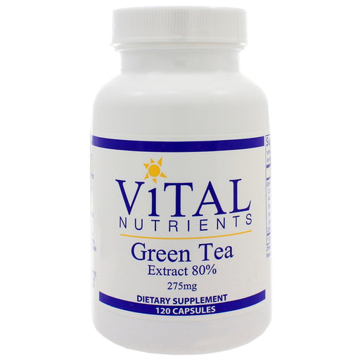 Green Tea Ext 80% 275mg - Nutriessential.com