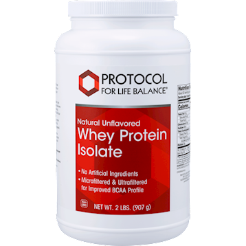 Whey Protein Isolate 2 lbs