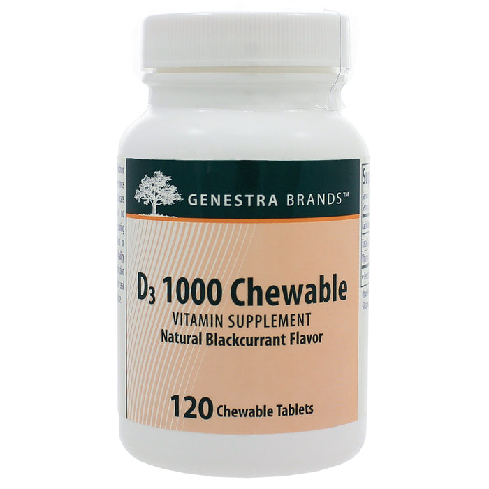 D3 1000 Chewable - Nutriessential.com
