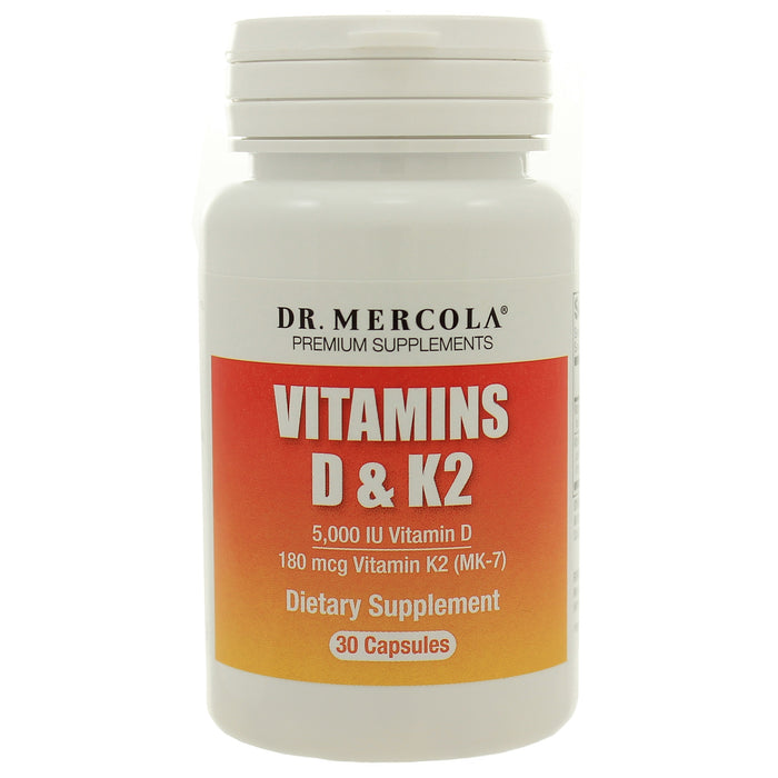 Vitamins D3 and K2 - Nutriessential.com