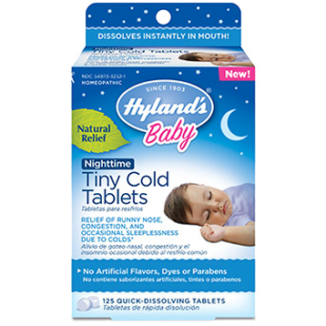 Baby Nighttime Tiny Cold Tab - Hylands
