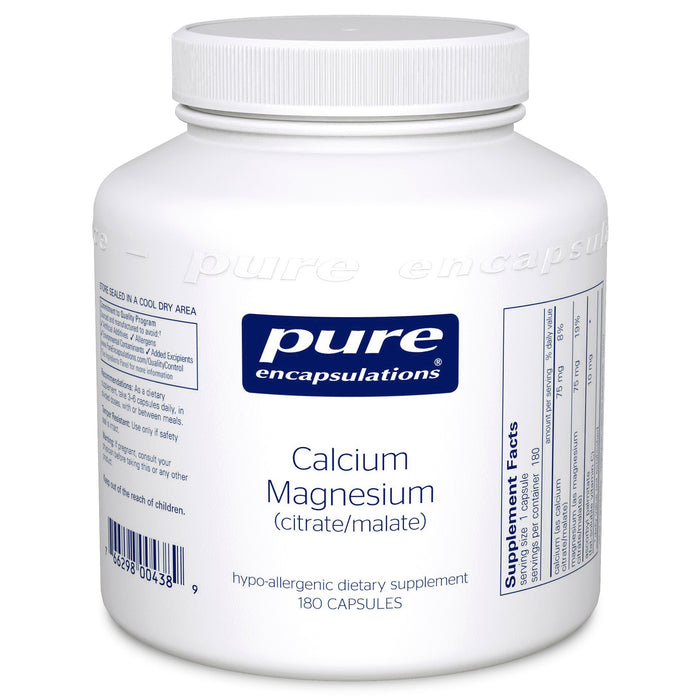 Calcium Magnesium (citrate/malate) by Pure Encapsulations