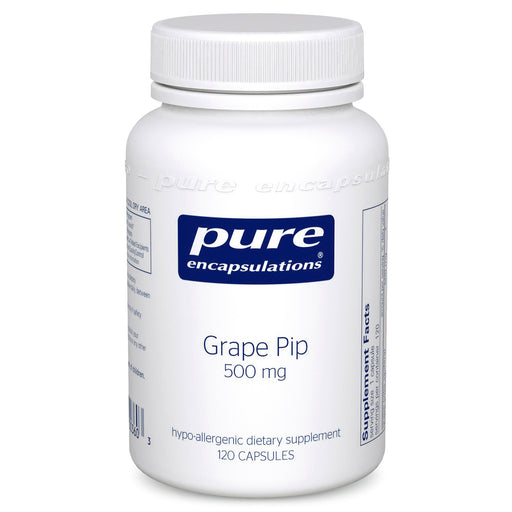 Grape Pip 500mg by Pure Encapsulations