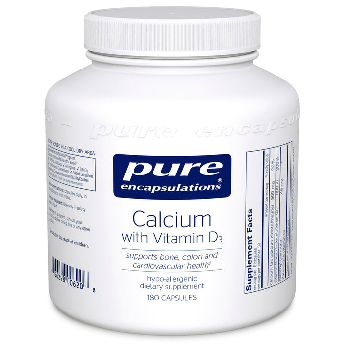 Calcium with Vitamin D3 by Pure Encapsulations
