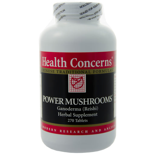 Power Mushrooms by Health Concerns
