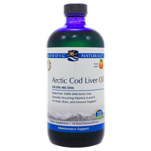 Arctic Cod Liver Oil Orange Liquid - Nutriessential.com