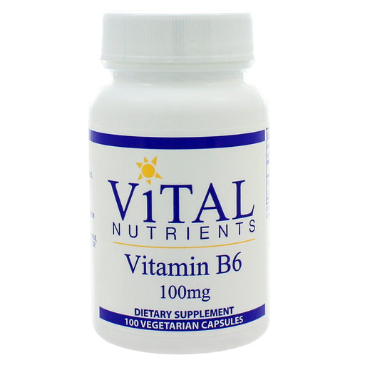 Vitamin B6 100mg - Nutriessential.com