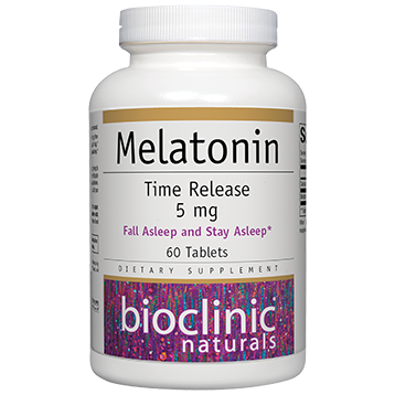 Bioclinic Melatonin Time Release 5 mg