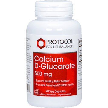 Calcium D Glucarate 500 mg -Protocol for life Balance