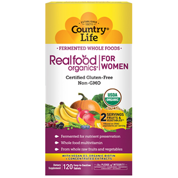 RealFood Organics for Women - Country Life