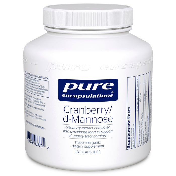Cranberry d Mannose by Pure Encapsulations