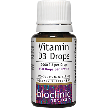 Bioclinic Vitamin D3 Drops 1000 IU 0.5 fl oz