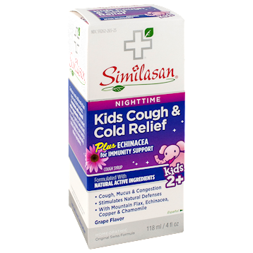 Nighttime Kids Cough & Cold Relief plus Echinacea